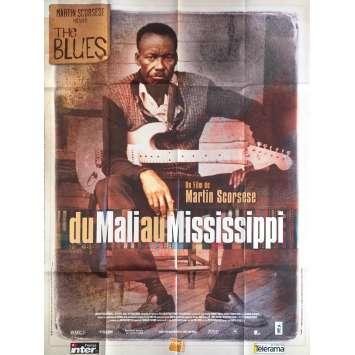 DU MALI AU MISSISSIPI Affiche de film - 120x160 cm. - 2003 - B. B. King, Martin Scorsese