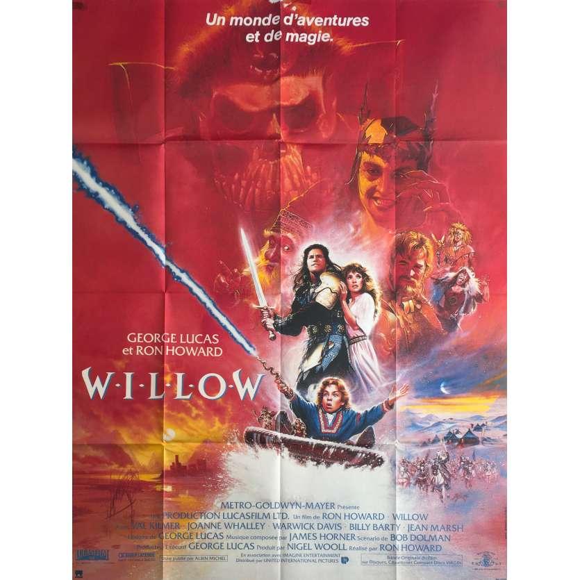 WILLOW Affiche originale FR 120x160 1988 fantasy movie poster