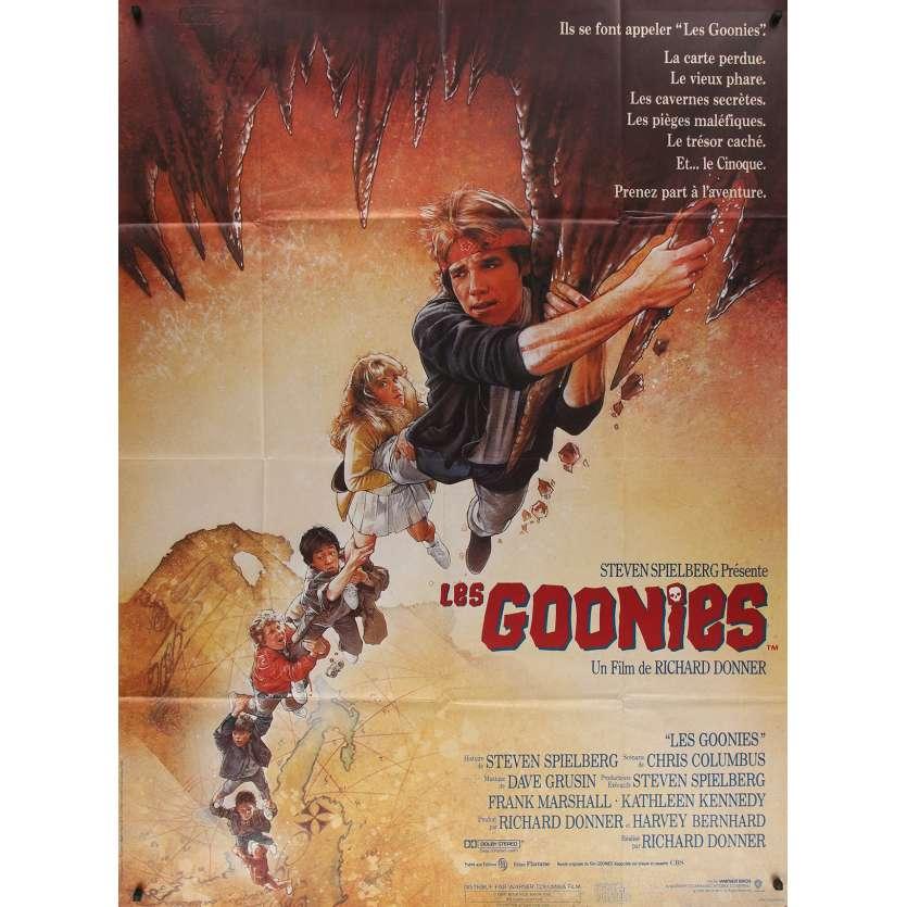 LES GOONIES Affiche de film 120x160 - R1980's - Richard Donner, Spielberg