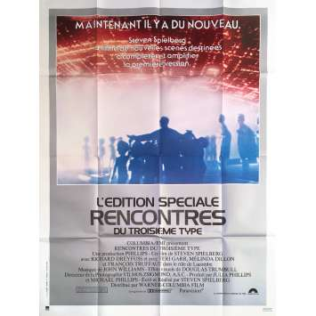 CLOSE ENCOUNTERS OF THE THIRD KIND Movie Poster - 47x63 in. - R1980 - Steven Spielberg, Special edition