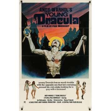 DU SANG POUR DRACULA Affiche de film - 69x102 cm. - 1974 - Joe Dallesandro, Paul Morrissey