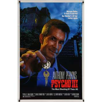 PSYCHOSE 3 Affiche de film - 69x102 cm. - 1986 - Anthony Perkins, Anthony Perkins