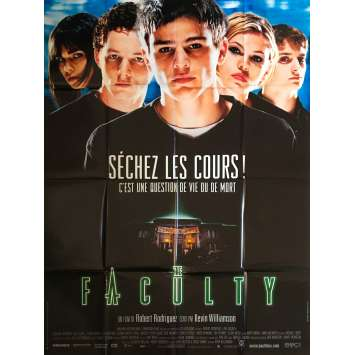 THE FACULTY Affiche de film - 120x160 cm. - 1998 - Josh Hartnett , Robert Rodriguez