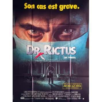 DR. RICTUS Affiche de film - 120x160 cm. - 1992 - Larry Drake, Manny Coto