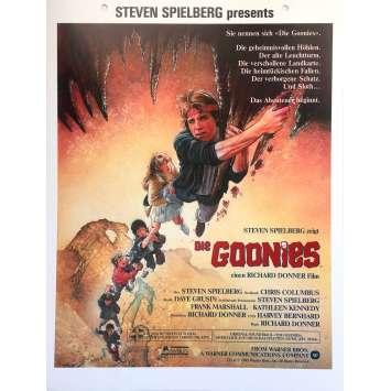 THE GOONIES Original Movie Poster - 9x11,5 in. - 1985 - Richard Donner, Sean Astin
