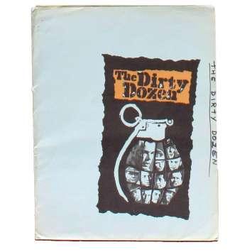 LES 12 SALOPARDS Doosier de presse 22x28 - 1967 - Lee Marvin, Robert Aldrich