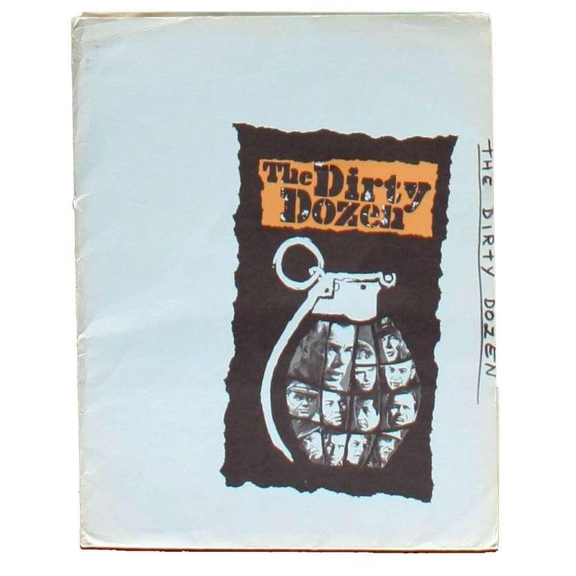 DIRTY DOZEN US Movie Poster 23x32 - 1967 - Robert Aldrich, Lee Marvin