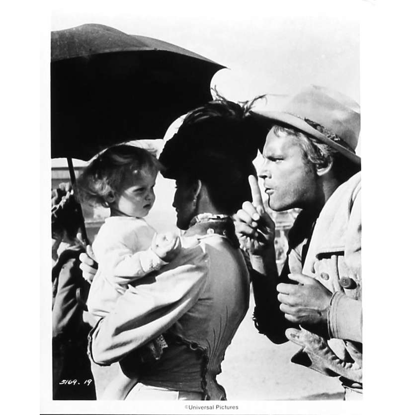 MON NOM EST PERSONNE Photo de presse N19 - 20x25 cm. - 1973 - Henry Fonda, Terence Hill, Tonino Valerii