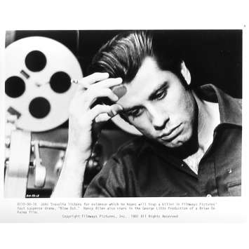 BLOW OUT Photo de presse 98-18 - 20x25 cm. - 1981 - John Travolta, Brian de Palma