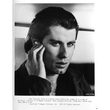 BLOW OUT Photo de presse 47-0A - 20x25 cm. - 1981 - John Travolta, Brian de Palma