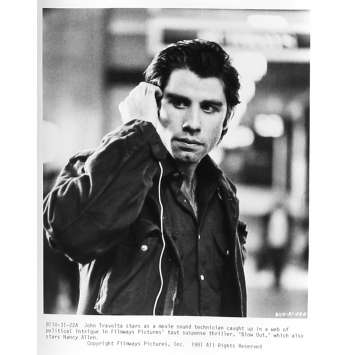 BLOW OUT Photo de presse 31-22A - 20x25 cm. - 1981 - John Travolta, Brian de Palma