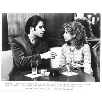 BLOW OUT Photo de presse 245-5A - 20x25 cm. - 1981 - John Travolta, Brian de Palma
