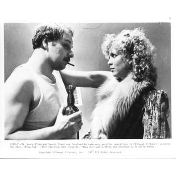 BLOW OUT Photo de presse 71-30 - 20x25 cm. - 1981 - John Travolta, Brian de Palma