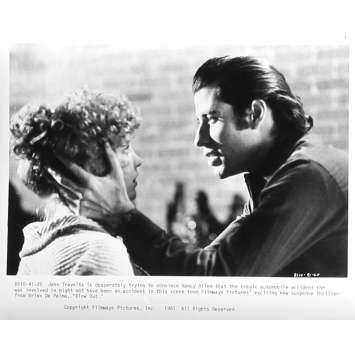 BLOW OUT Photo de presse 91-20 - 20x25 cm. - 1981 - John Travolta, Brian de Palma