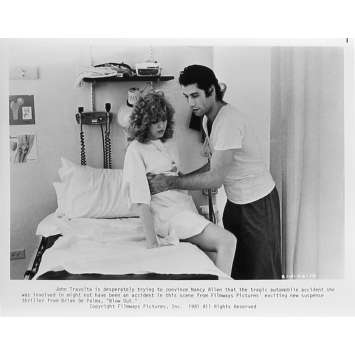 BLOW OUT Photo de presse 46-14 - 20x25 cm. - 1981 - John Travolta, Brian de Palma