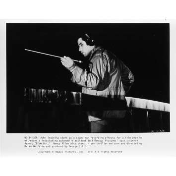 BLOW OUT Photo de presse 14-32A - 20x25 cm. - 1981 - John Travolta, Brian de Palma
