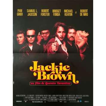 JACKIE BROWN Affiche de film - 40x60 cm. - 1997 - Pam Grier, Quentin Tarantino