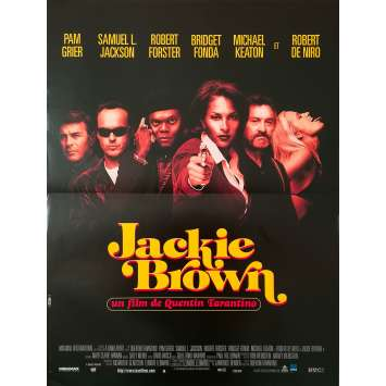 JACKIE BROWN Original Movie Poster - 15x21 in. - 1997 - Quentin Tarantino, Pam Grier