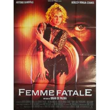 FEMME FATALE Affiche de film - 120x160 cm. - 2002 - Antonio Banderas, Brian De Palma