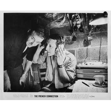 FRENCH CONNECTION Photo de presse N10 - 20x25 cm. - 1971 - Gene Hackman, William Friedkin