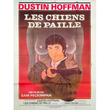 STRAW DOGS Original Movie Poster - 47x63 in. - 1971 - Sam Peckinpah, Dustin Hoffman