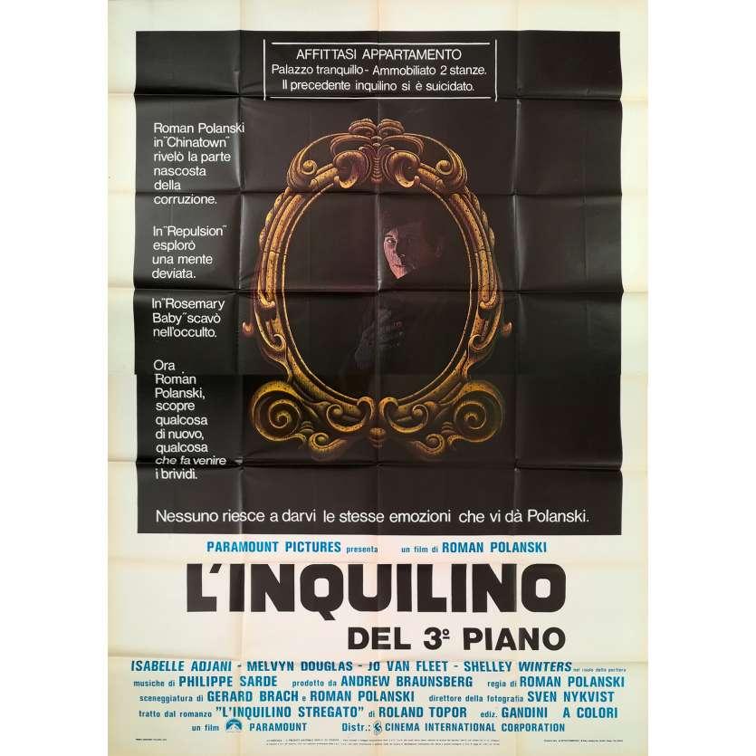 LE LOCATAIRE Affiche de film - 140x200 cm. - 1976 - Isabelle Ajjani, Roman Polanski