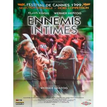 ENNEMIS INTIMES Affiche de film - 120x160 cm. - 1999 - Klaus Kinski, Werner Herzog