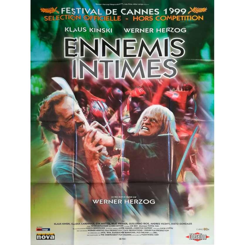 MY BEST FRIEND Original Movie Poster - 47x63 in. - 1999 - Werner Herzog, Klaus Kinski