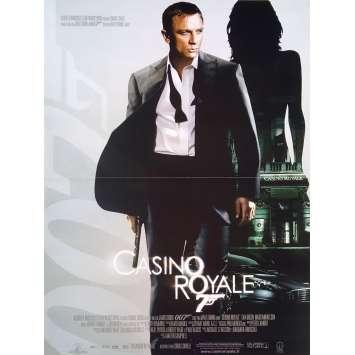 CASINO ROYALE Affiche de film française - 40x60 cm. - 2006 - Daniel Craig, Martin Campbell