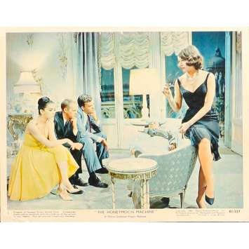 THE HONEYMOON MACHINE Original Lobby Card N5 - 8x10 in. - 1961 - Richard Thorpe, Steve McQueen