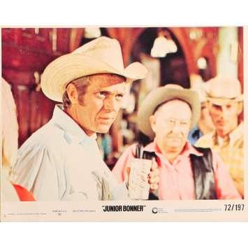 JUNIOR BONNER Original Lobby Card N5 - 8x10 in. - 1972 - Sam Peckinpah, Steve McQueen