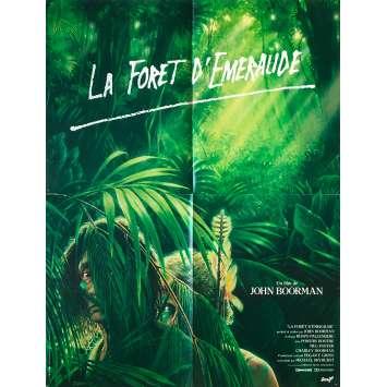 LA FORET D'EMERAUDE Affiche de film française - 60x80 cm. - 1985 - Powers Boothe, John Boorman