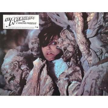LES AVENTURIERS DE L'ARCHE PERDUE Photo de film française N8 - 21x30 cm. - 1981 - Harrison Ford, Steven Spielberg