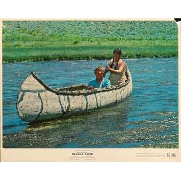 NEVADA SMITH Original Lobby Card N1 - 8x10 in. - 1966 - Henry Hathaway, Steve McQueen