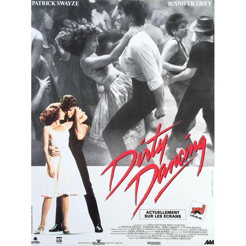 DIRTY DANCING Original Movie Poster - 15x21 in. - R2000 - Emile Ardolino, Patrick Swayze