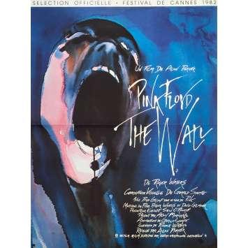 PINK FLOYD THE WALL Affiche de film française - 40x60 cm. - R1990 - Bob Geldof, Alan Parker
