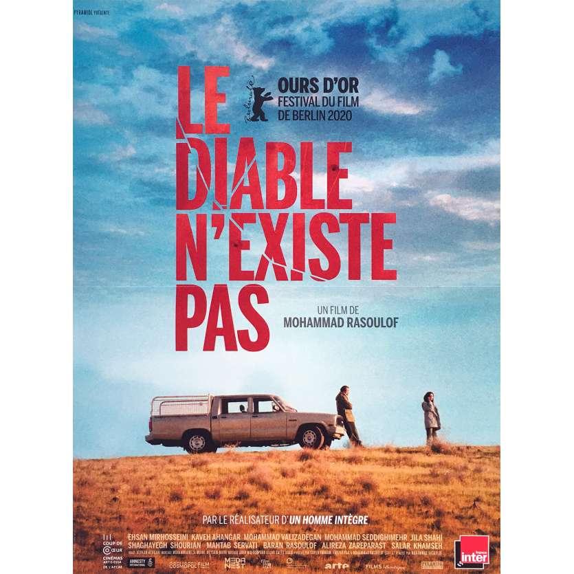 LE DIABLE N'EXISTE PAS Affiche de film française - 40x60 cm. - 2020 - Baran Rasoulof, Mohammad Rasoulof