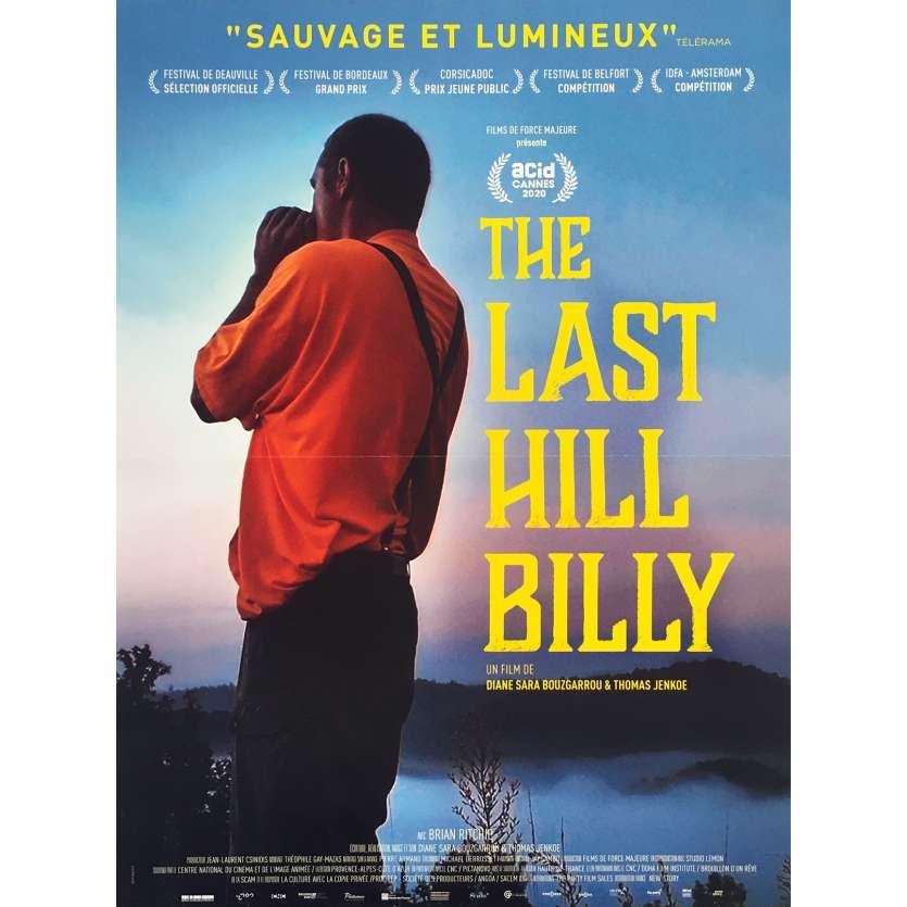 THE LAST HILL BILLY Original Movie Poster - 15x21 in. - 2020 - Diane Sara Bouzgarrou, Brian Ritchie