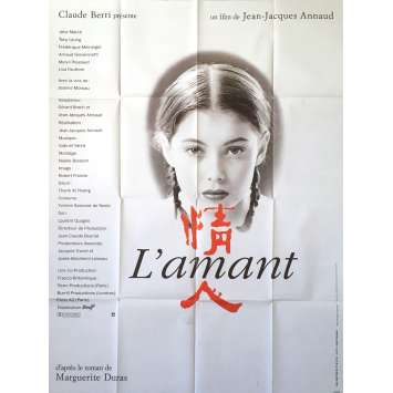 THE LOVER Original Movie Poster - 47x63 in. - 1992 - Jean-Jacques Annaud, Jane March