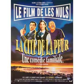LA CITE DE LA PEUR Affiche de film - 60x80 cm. - 1994 - Les Nuls, Alain Berbérian