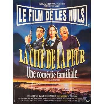 LA CITE DE LA PEUR Affiche de film - 120x160 cm. - 1994 - Les Nuls, Alain Berbérian