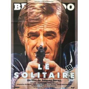 LE SOLITAIRE Affiche de film - 120x160 cm. - 1987 - Jean-Paul Belmondo, Jacques Deray