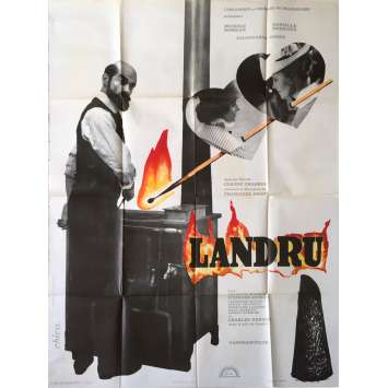 BLUE BEARD Original Movie Poster - 47x63 in. - 1963 - Claude Chabrol, Richard Burton