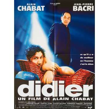 DIDIER Original Movie Poster - 23x32 in. - 1997 - Alain Chabat, Jean-Pierre Bacri