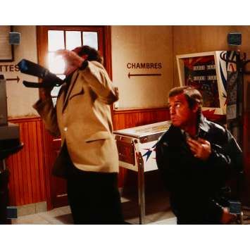 FLIC OU VOYOU Photo de presse N08 - 24x30 cm. - 1979 - Jean-Paul Belmondo, Georges Lautner