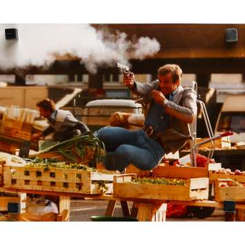FLIC OU VOYOU Photo de presse N17 - 24x30 cm. - 1979 - Jean-Paul Belmondo, Georges Lautner