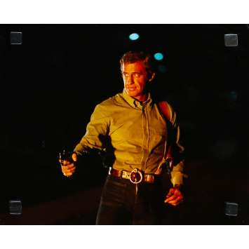 FLIC OU VOYOU Photo de presse N20 - 24x30 cm. - 1979 - Jean-Paul Belmondo, Georges Lautner