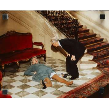 L'AILE OU LA CUISSE Photo de presse N29 - 24x30 cm. - 1976 - Louis de Funès, Coluche, Claude Zidi