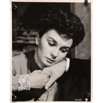 DES PAS DANS LE BROUILLARD Photo de presse FL2-53A - 20x25 cm. - 1955 - Jean Simmons, Arthur Lubin