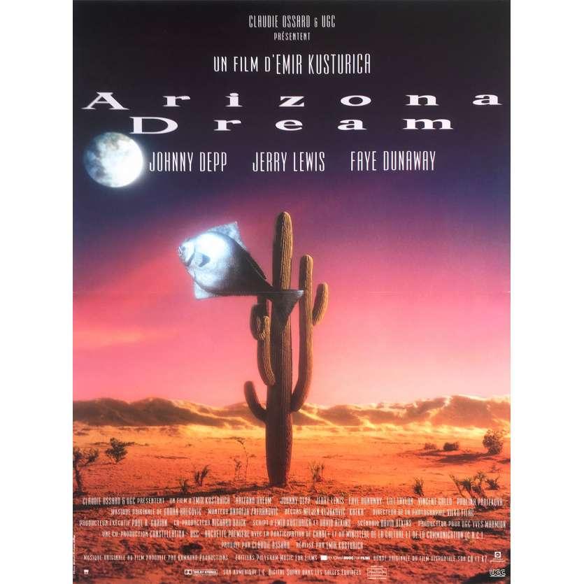 ARIZONA DREAM Affiche de film - 40x60 cm. - 1993 - Johnny Depp, Emir Kusturica